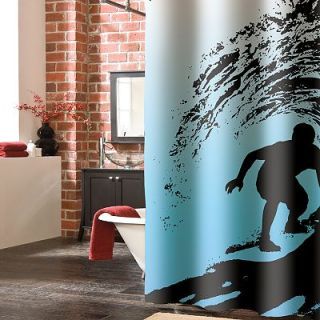 Veratex Wild Surf Shower Curtain