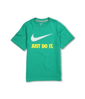 Nike Kids QT JDI Swoosh S/S Crew Tee (Little Kids/Big Kids)