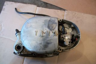 Yamaha HT1 90 HT190 1971 Clutch Right Engine Motor Cover Oil Injection