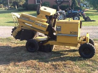 SC352 Stump Grinder Chipper Diesel Engine Hydrostatic Drive
