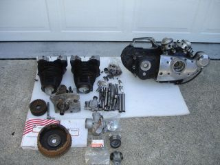 Harley Davidson XL Ironhead Sportster Engine and Transmission