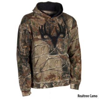 Points North Mens Camo Grinder Skull Hoodie