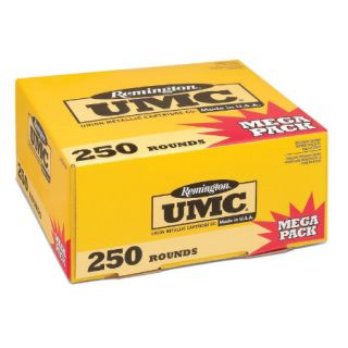 Remington L9MM3A UMC Handgun Ammunition 9mm Luger Caliber 250 Round