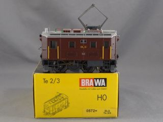 DTD Trains HO Scale Brawa 0572 TE 2 3 BLS 32 Electric Loco Model Train