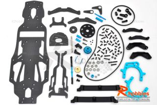 10 RC Car Tamiya TA 05 Carbon Fiber Modification Kit