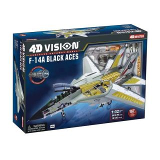 14 Tomcat Black Aces 4D Vision Cutaway Model