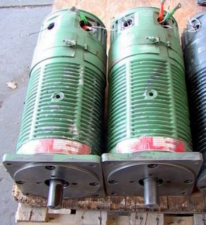 DC Traction Type Electric Motor with Tach Generator`5HP