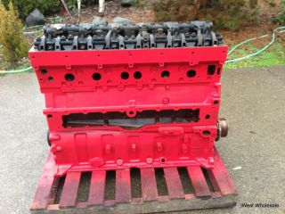 2007 Cummins ISX Diesel Engine Block Core Only