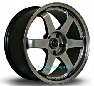 17x8 Rota Grid 5x114.3 +35 HB 06 08 12 Civic Accord STI RSX TSX Lancer