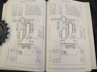 1964 CAT   CATERPILLAR D343 D 343 Diesel Engine Parts Manual Catalog