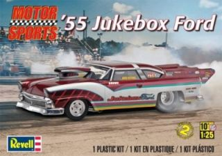 Revell Model Kit 4036 1 25 1955 Jukebox Ford Pro Mod Factory SEALED in