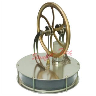 ST 007 LOW Temp. Stirling Engine Toy Kit Novelty Originality Toy for