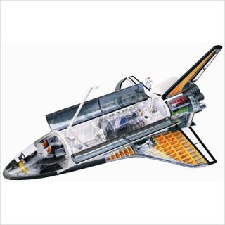 Famemaster 4D Vision 4D Space Shuttle Model 26116