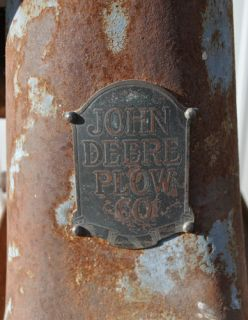Factory John Deere Plow Company Hit & Miss Gas Engine Cream Separator