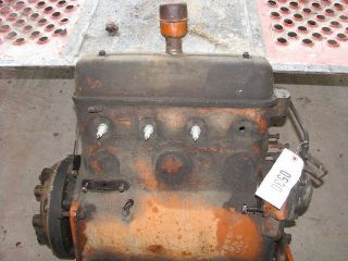 Good Used Allis Chalmers B Running 4 Cyl Gas Engine CEQ Tag 530