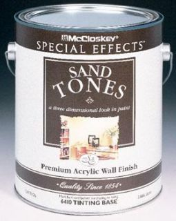 Valspar 80 6410 07 GL McCloskey Special Effects Sand Tones Tint Base Paint (4 Pack)